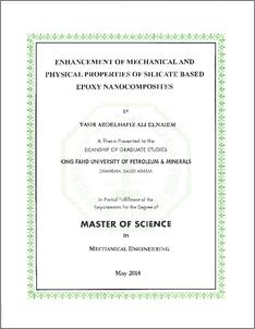 ENHANCEMENT OF MECHANICAL AND PHYSICAL PROPERTIES OF SILICATE BASED
