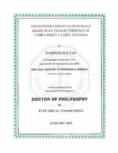 Phd thesis on ferrites