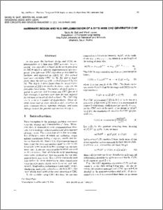 HARDWARE DESIGN AND VLSI IMPLEMENTATION OF A BYTE-WISE CRC
